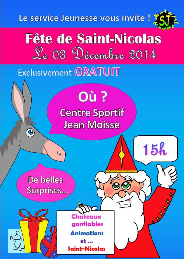 Affiche Saint Nicolas