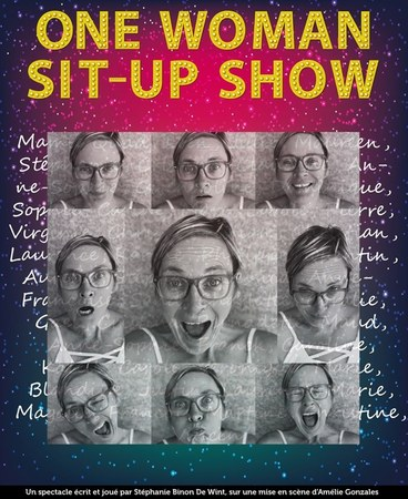 One women sit-up show