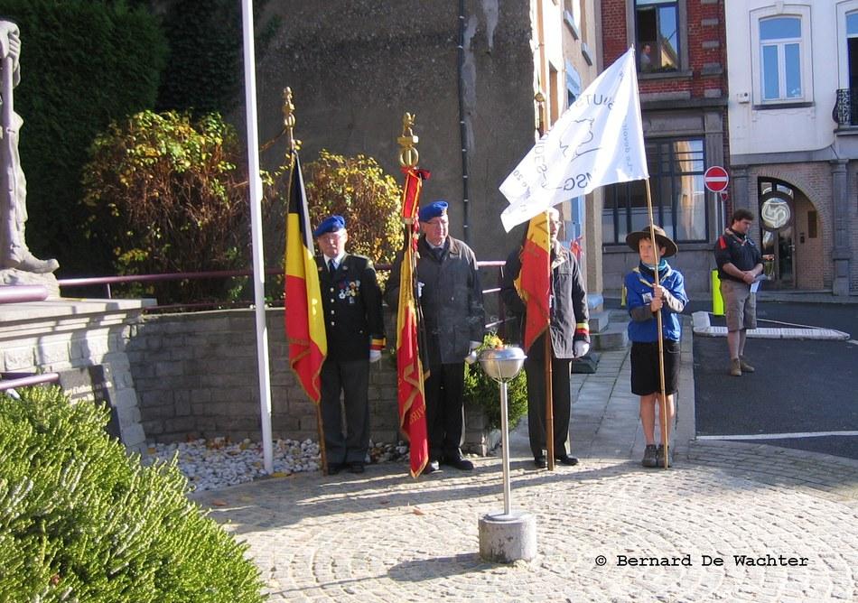 Commémoration   photographe Bernard De Wachter