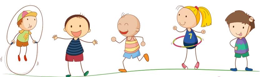 Enfants plaine - fond transparent