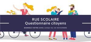 Rue scolaire - Questionnaire citoyens
